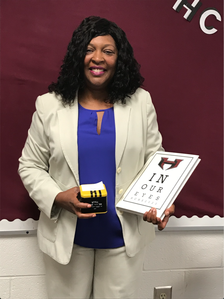 Congratulations Ms. Spearman!