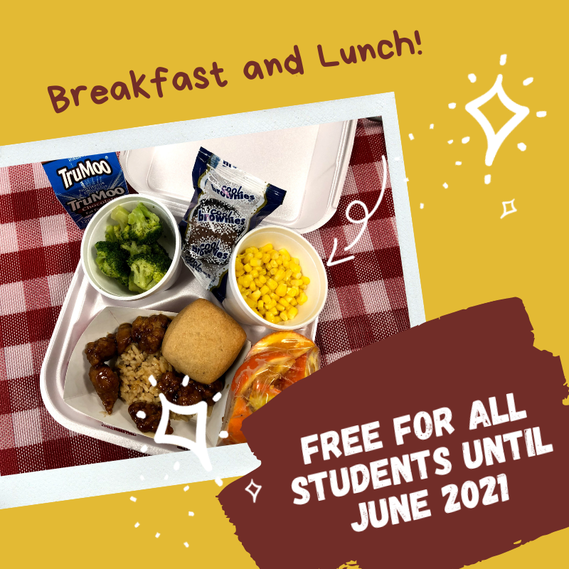 Free Meals Extended until June 2021