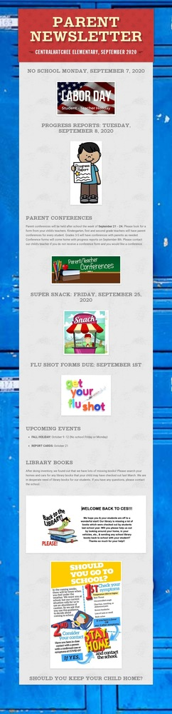 September Parent Newsletter