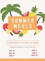 Summer Meals until the end of June!