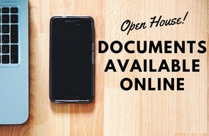 Open House Documents Available Online