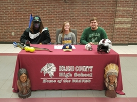 Signing Day For Three Braves
