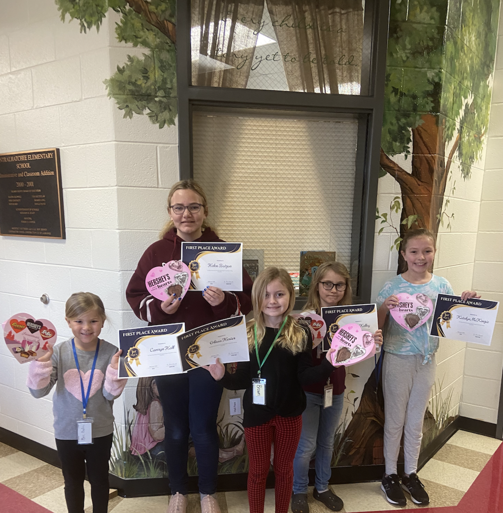 Georgia Young Author School Level Winners