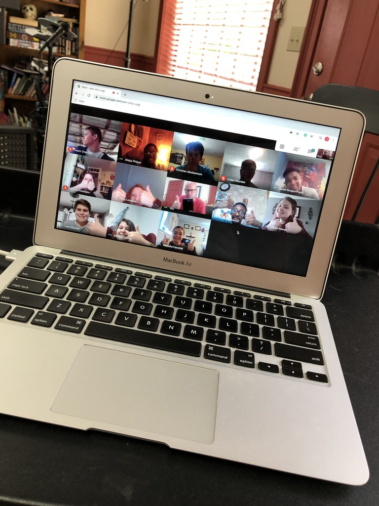 Google Meet with 2nd Block